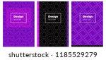 dark purple  pink vector layout ...   Shutterstock .eps vector #1185529279