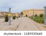 birgu  vittoriosa   malta.... | Shutterstock . vector #1185535660