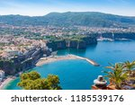 aerial daytime view of sorrento ... | Shutterstock . vector #1185539176