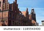 spires of st. mary's church ... | Shutterstock . vector #1185543400