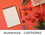 christmas holiday background...   Shutterstock . vector #1185543463