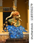 siem reap cambodia march 27... | Shutterstock . vector #1185550279