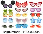 carnival party masquerade... | Shutterstock .eps vector #1185581536