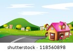illustration of kids and a... | Shutterstock . vector #118560898