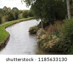 grand union canal man made... | Shutterstock . vector #1185633130
