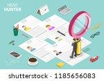 isometric flat vector concept... | Shutterstock .eps vector #1185656083