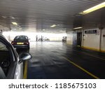 arrival and unloading car ferry ... | Shutterstock . vector #1185675103