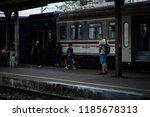 zagreb  croatia  09 20 2018   a ... | Shutterstock . vector #1185678313