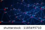 big data visualization....   Shutterstock . vector #1185695710