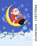 santa clause vector | Shutterstock .eps vector #118570066
