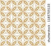 vector floral ornamental... | Shutterstock .eps vector #1185705133