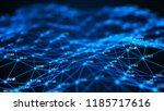 data technology background.... | Shutterstock . vector #1185717616