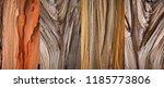 four woody textures  coarse... | Shutterstock . vector #1185773806