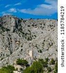 Small photo of Castle Mirabela in Omis in Croatia