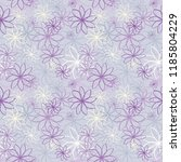 seamless abstract floral... | Shutterstock .eps vector #1185804229