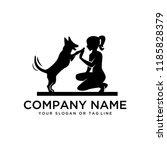 creative design logo ideas... | Shutterstock .eps vector #1185828379