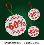 price discount tag | Shutterstock .eps vector #118583548