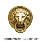 Lion Head Door Knocker ...