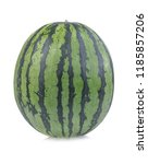 watermelon isolated on white... | Shutterstock . vector #1185857206
