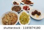 teochew porridge is a teochew... | Shutterstock . vector #1185874180