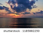before sunrise at sea | Shutterstock . vector #1185882250