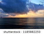 before sunrise at sea | Shutterstock . vector #1185882253