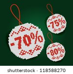 discount price tag | Shutterstock .eps vector #118588270