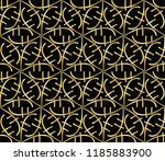 seamless horizontal borders... | Shutterstock . vector #1185883900