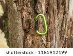 metal carabine for... | Shutterstock . vector #1185912199
