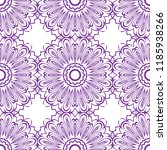 ornamental floral print with...   Shutterstock .eps vector #1185938266