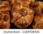 hojaldras  pan de muerto  day...   Shutterstock . vector #1185938920