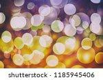 glittering shine bulbs lights... | Shutterstock . vector #1185945406