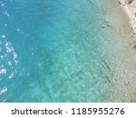 crystal clear water of aegean...   Shutterstock . vector #1185955276