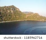 flight above aegean sea | Shutterstock . vector #1185962716