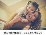 this moments make me happy.... | Shutterstock . vector #1185975829
