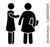 a hospital staff inquiring a... | Shutterstock .eps vector #1186003069