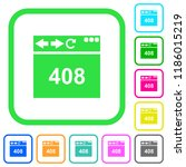 browser 408 request timeout... | Shutterstock .eps vector #1186015219