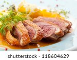 Duck Breast With Orange And...