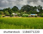 the surroundings of hsipaw | Shutterstock . vector #1186071220