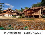 the surroundings of hsipaw | Shutterstock . vector #1186071223