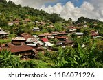 the surroundings of hsipaw | Shutterstock . vector #1186071226