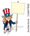 "uncle sam ""i want you"" placard 
