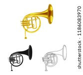vector illustration of music... | Shutterstock .eps vector #1186083970