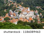 the palace of sintra  town... | Shutterstock . vector #1186089463