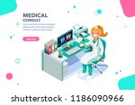 concept with characters ... | Shutterstock .eps vector #1186090966