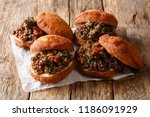 traditional south african... | Shutterstock . vector #1186091929