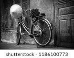 Old Bicycle  Flower And...