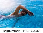 professional male watersport ... | Shutterstock . vector #1186132039