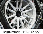 car mag wheel.magnesium alloy... | Shutterstock . vector #1186165729