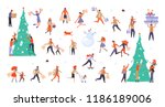 bundle for christmas sale.... | Shutterstock .eps vector #1186189006
